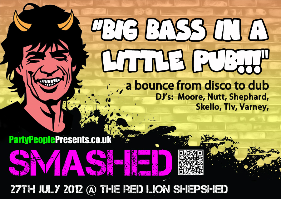PARTYPEOPLEPRESENTS SMASHED 27TH JULY 2012 @ THE RED LION SHEPSHED