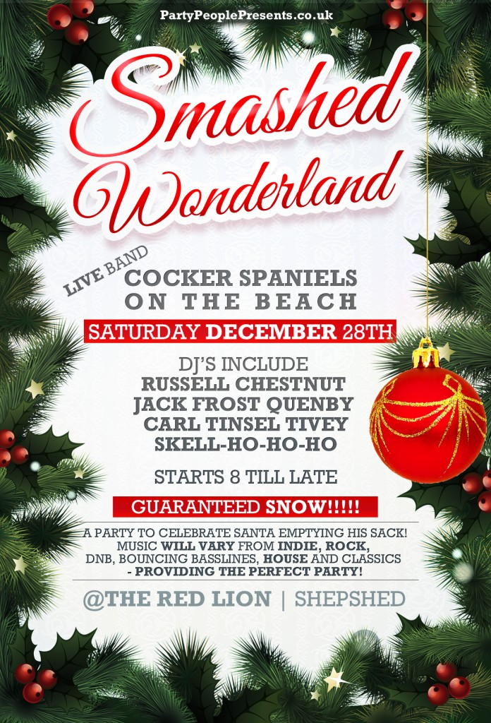 Partypeoplepresents SMASHED WONDERLAND @ The Red Lion Shepshed